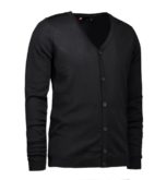 Identity Business Cardigan - schwarz