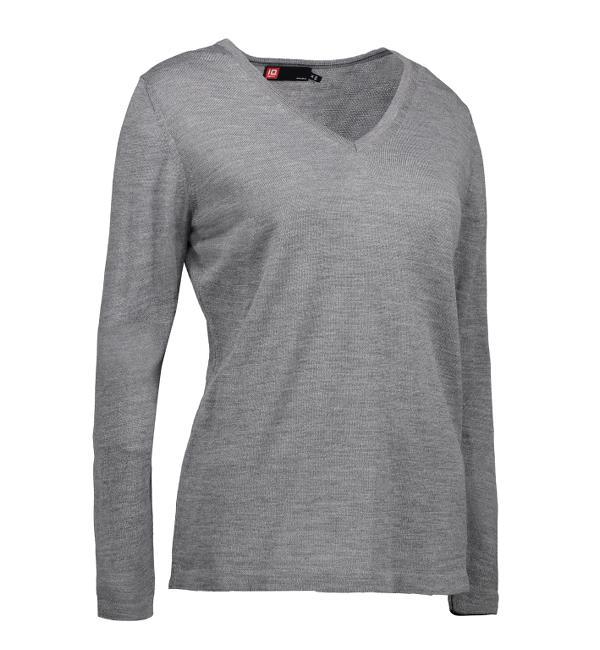Identity Business Damen Pullover - grau meliert