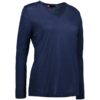 Identity Business Damen Pullover - königsblau meliert