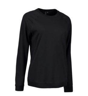 Identity Core O-Neck Damen Sweat - schwarz