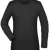 Tangy-T Long-Sleeved James & Nicholson - black
