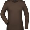Tangy-T Long-Sleeved James & Nicholson - brown