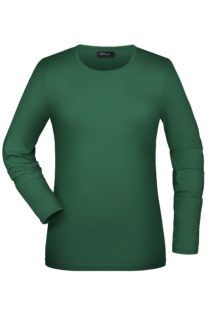 Tangy-T Long-Sleeved James & Nicholson - green