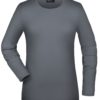Tangy-T Long-Sleeved James & Nicholson - mid grey