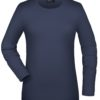 Tangy-T Long-Sleeved James & Nicholson - navy