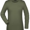Tangy-T Long-Sleeved James & Nicholson - olive