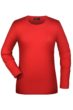 Tangy-T Long-Sleeved James & Nicholson - red