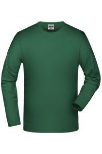 Elastic-T Long-Sleeved James & Nicholson - green