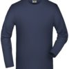 Elastic-T Long-Sleeved James & Nicholson - navy