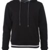 Ladies' Club Hoody James & Nicholson - black white