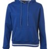 Ladies' Club Hoody James & Nicholson - royal white