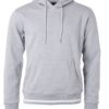 Men's Club Hoody James & Nicholson - grey heather white