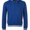 Men's Club Hoody James & Nicholson - royal white