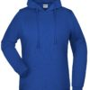 Basic Hoody Lady James & Nicholson - dark royal