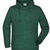 Basic Hoody Man James & Nicholson - dark green