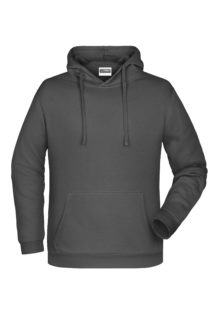 Basic Hoody Man James & Nicholson - graphite