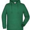 Basic Hoody Man James & Nicholson - irish green