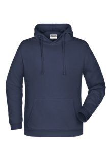 Basic Hoody Man James & Nicholson - navy
