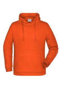 Basic Hoody Man James & Nicholson - orange