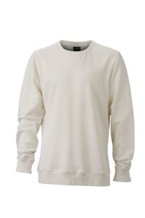 Men's Basic Raglan Sweat James & Nicholson - offwhite