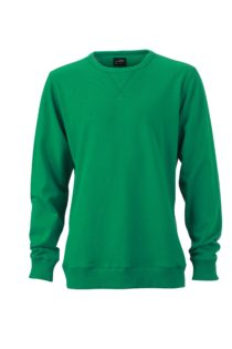 Men's Basic Raglan Sweat James & Nicholson - simply green