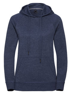 Ladies' HD Hooded Sweat Russell - bright navy
