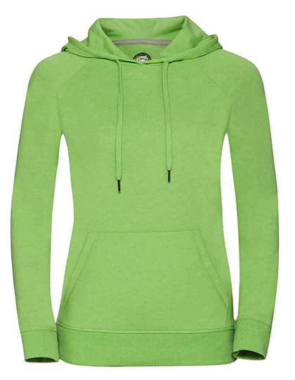 Ladies' HD Hooded Sweat Russell - grün