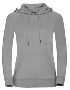 Ladies' HD Hooded Sweat Russell - silver