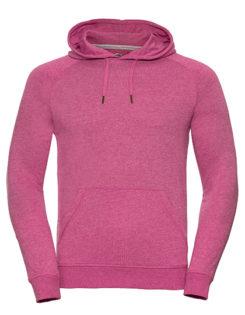 Men's HD Hooded Sweat Russell - pink