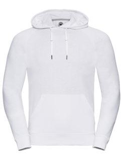 Men's HD Hooded Sweat Russell - white