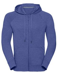 Men's HD Zipped Hood Sweat Russell - blue