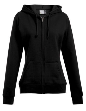 Women's Hoody Jacket Promodoro - black