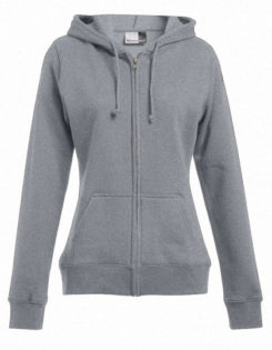 Women's Hoody Jacket Promodoro - sports grey