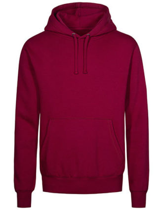 XO Hoody Sweater Men Promodoro - berry