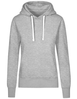 XO Hoody Sweater Women Promodoro - heather grey