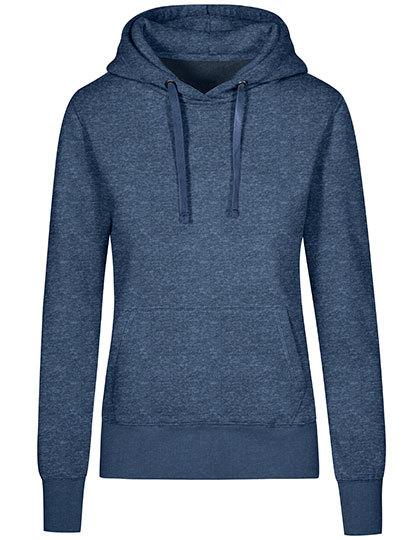 XO Hoody Sweater Women Promodoro - heather navy
