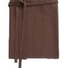 Bistroschürze Roma 50 x 78 cm CG Workwear - chocolate brown