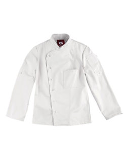 Chef's Jacket Turin Lady Classic CG Workwear - white