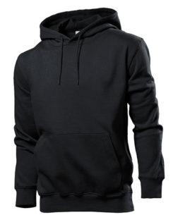 Hooded Sweatshirt Stedman - black opal