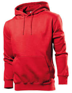 Hooded Sweatshirt Stedman - red