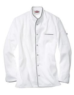 Kochjacke Trapani Man CG Workwear - white black