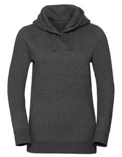 Ladies' Authentic Melange Hooded Sweat Russell - carbon melange