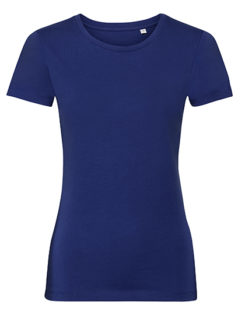 Ladies' Authentic Tee Pure Organic Russell - bright royal