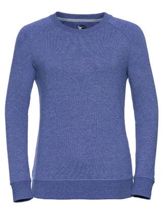 Ladies' HD Raglan Sweat Russell - blue