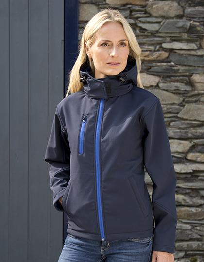 Ladies' TX Performance Hooded Softshell Jacket Result