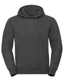 Men's Authentic Melange Hooded Sweat Russell - carbon melange