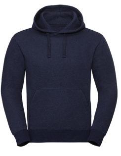 Men's Authentic Melange Hooded Sweat Russell - indigo melange