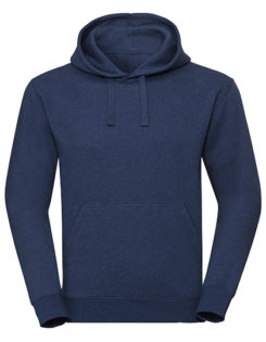 Men's Authentic Melange Hooded Sweat Russell - ocean melange