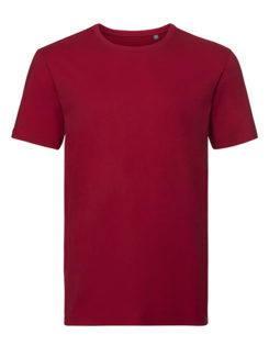 Men's Authentic Tee Pure Organic Russell - classic red