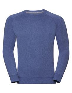 Men's HD Raglan Sweat Russell - blue
